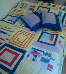 Prekrivac,pacvork+2 jastucnice NOVO