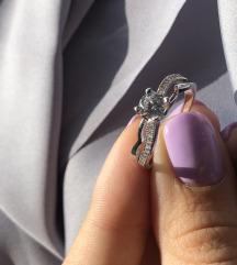 Prsten sa cirkonima 19mm