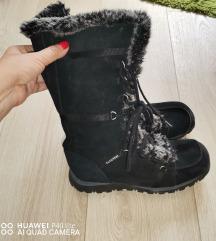 Skechers kozne tople cizme