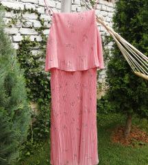 H&M elegantna plisirana haljina