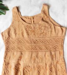 Romantična vezena haljina