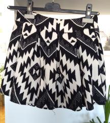 suknja sa asteckim sarama