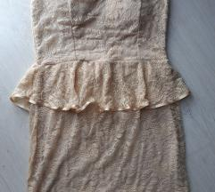 Sampanj haljinica