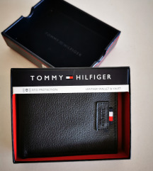 Tommy Hilfiger muski kozni novcanik crni 7