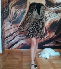 Zara leopard print haljna