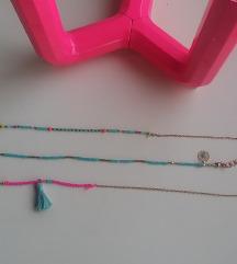 3 choker ogrlice