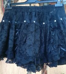 Gothic suknjica nitne i čipka, univerzalana!