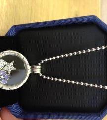 Pandora medaljon srebro
