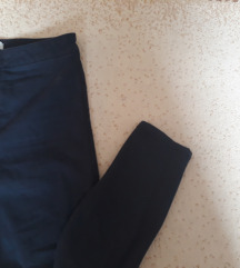 Teget skinny pantalone Bershka
