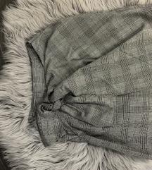 Siva mini suknjica