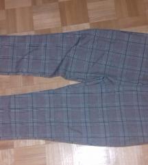 NOVE Zenske karirane pantalone sa karnerima