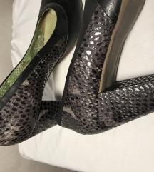 Crne kozne MJUS cipele