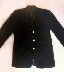 RENE LEZARD crni vuneni muški sako 54