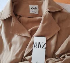 Zara nov leprsavi mantil xs