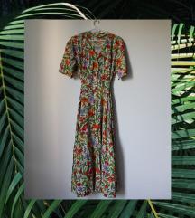 Vintage cvetna haljina