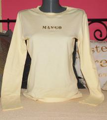 MANGO majica u boji vanile NOVO/ORIG