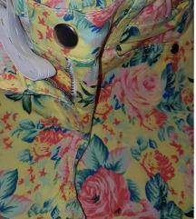 KOTON KIDS pantalone cvetni dezen 4-5 godina