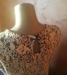 Majica sa cvetnim reljefom