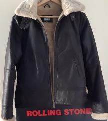 Zimska kožna jakna