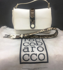 ROCCOBAROCCO - white snake bag
