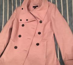 roze kaput H&M
