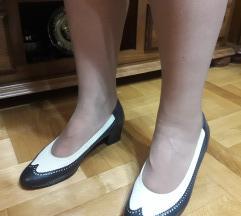 ARA FLEX teget bele kozne cipele kao nove