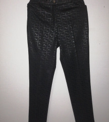 Fendi logo black pants