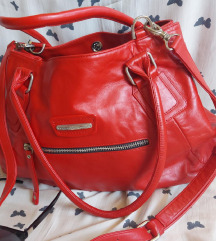Kozna torba TWIST crvena