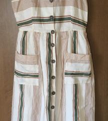 Zara haljina na raskopcavanje