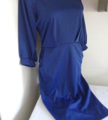 Linyuou plava haljina XL