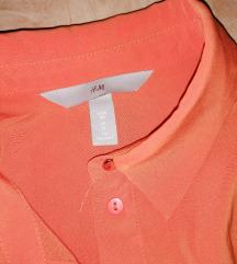 H&m narandžasta svilena košul%%%%ja