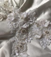 Unikat balska haljina ✨ sa 3D cvetovima