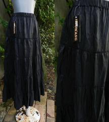 Duga crna suknja NOVO