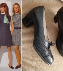 Kozne cipele u vintage stilu, broj 39