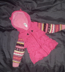 Roze jakna za prelaz vel. 80