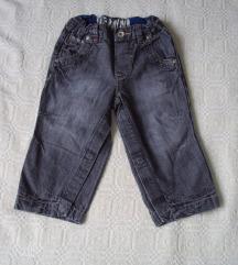 Zara farmerice za decaka 9-12 mes.kao Nove