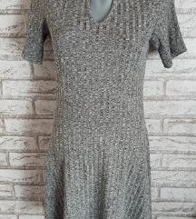 NOVA Siva dzemper haljina