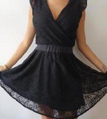 Crna moderna haljina S/M
