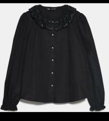 Nova Zara kosulja sa neobicnom kragnom