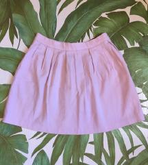 Stradivarius roze suknja