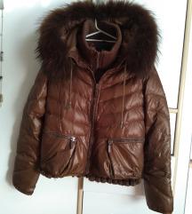 Zimska jakna sa ogromnim krznom SNIZENJEE 6700