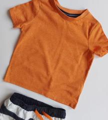 F&F narandzasta majica