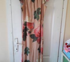 Duga cvetna haljina sirena vel 40 snizeno 1500