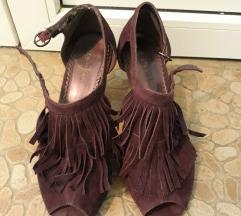 AKCIJA Graceland ljubičaste sandale sa resama