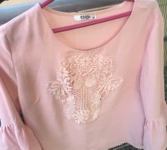 Nezno roze bluzica