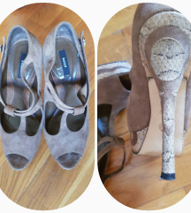 %14.900-Bally Peep-Toe kožne sandalete, original