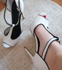 Kožne Graceland cipele na štiiklu