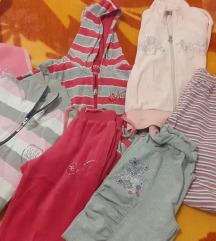 Paket zimske odece za devojcicu od 6-7god