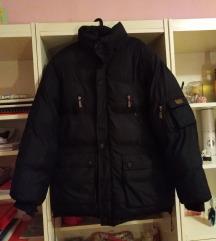 Crna muska zimska jakna 2800