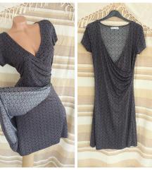 WOMEN ONLY ♕ retro kafena wrap haljina